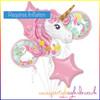 Unicorn Balloon Bouquet Kit