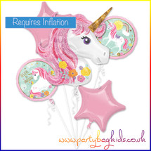 Unicorn Balloon Bouquet Kit