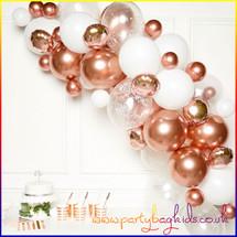 Rose Gold Balloon Garland Kit