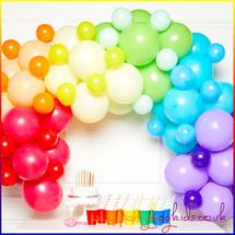 Pastel Rainbow Balloon Garland Kit