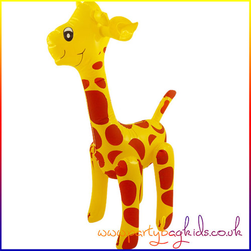 GIRAFFE INFLATABLE PARTY PROP