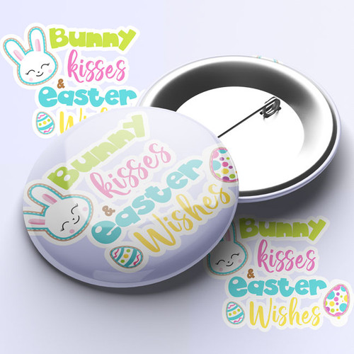 Easter Pin Badge