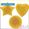 Gold Foil Balloon Shape Selection