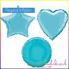 Light Blue Foil Balloon Shapes Selection