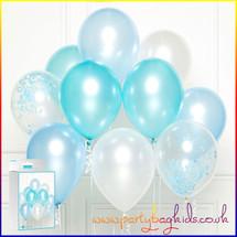 Blue Balloon Cluster Kit