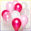Pink Balloon Cluster