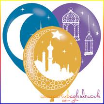 Eid Themed Latex Balloons