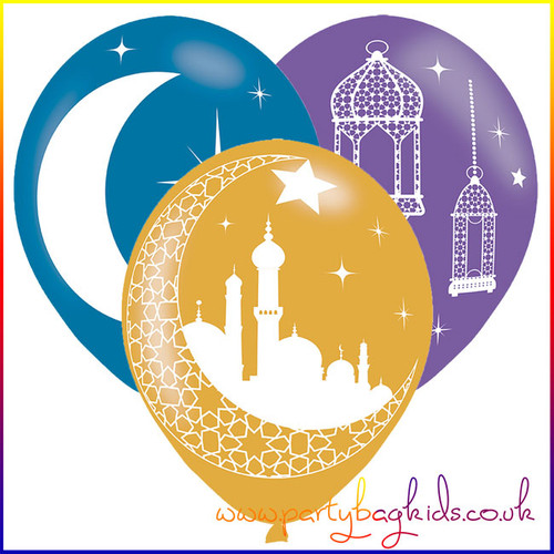 Eid Themed Latex Balloons