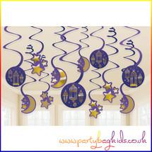 Eid Swirl Decorations