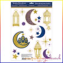 Eid Window Decorations
