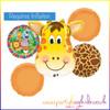 Giraffe Balloon Bouquet Kit