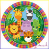 Jungle Animal Party Plate