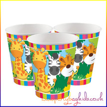 Safari Animal Party Cups