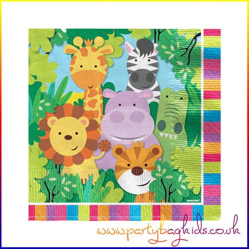 Safari Animal Party Napkins