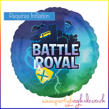 "Battle Royal Foil Balloon 18"" Round"
