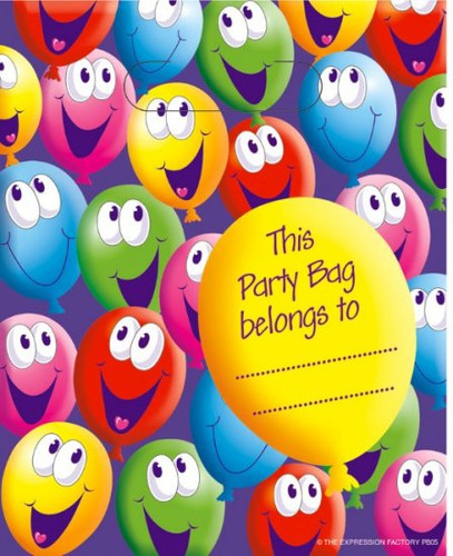 Expression Balloons Party Bag