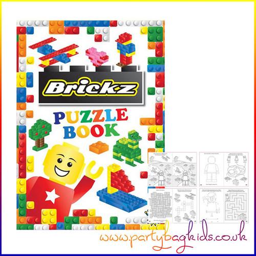 Building Block Puzzle Book