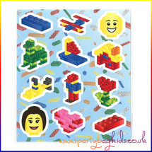 Building Block Sticker Sheet