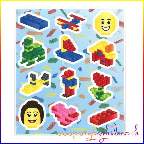 Building Block Sticker Sheet