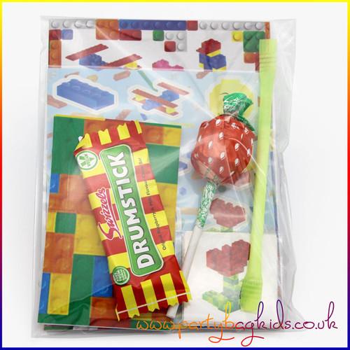 Building Block Party Bag Inner Sleeve