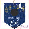 Countdown to Eid Chalkboard