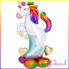 AirLoonz Unicorn Air Filled Foil Balloon Display