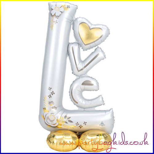 AirLoonz Love  Air Filled Foil Balloon Display