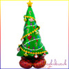 AirLoonz Christmas Tree Air Filled Foil Balloon Display