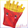French Fries Super Shape Foil Balloon