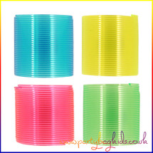 Mini Neon Slinky Spring