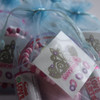 Pamper Party Bag in Blue Close