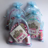 Quartet of Blue Pamper Party Bags
