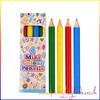 Mini Colouring Pencils Pk4