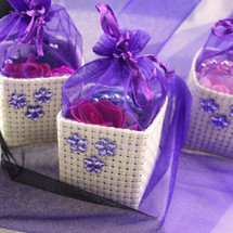 Princess Basket with Cadbury Purple Topping