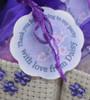 Cadbury Purple Personalised Label