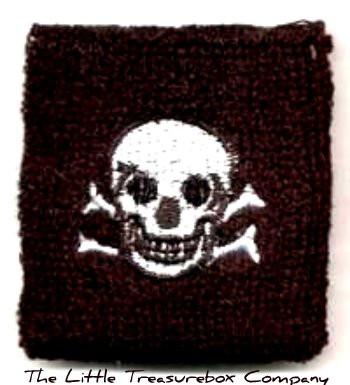 Skull wrist band