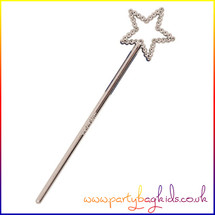 Mini Silver Fairy Wand
