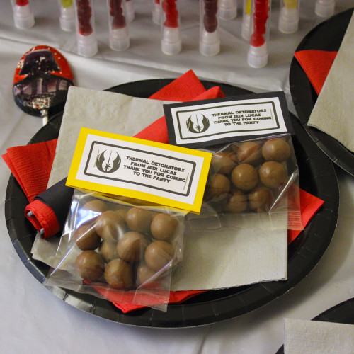 Thermal Detonator Party Bag Sweets