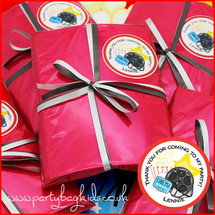 Movie Night Personalised Pre-filled Party Bag in Red