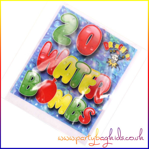 Packet of 20 water bombs