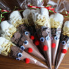 Rudolph Hot Chocolate Cones