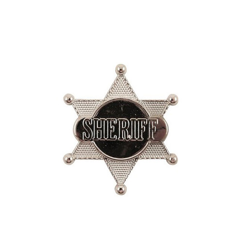 Silver Coloured Sheriffs Badge