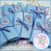 Fairy Friends Blue Cello Party Bag