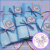Whimsical Wings Party Bag in Baby Blue Cello