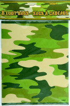 Camoflage Party Bag