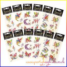 Fairy Glitter Tattoos