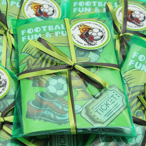 Football Trophy Party Bag in Forest Green