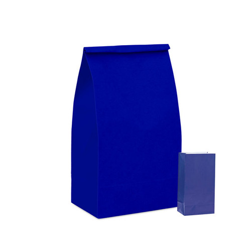 Royal Blue Paper Party Bag