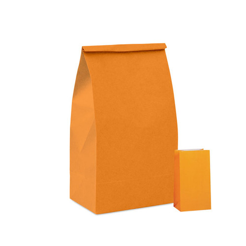 Orange Paper Party Bag