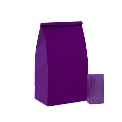 Deep Purple Paper Party Bag